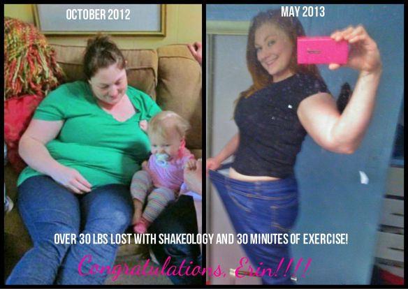 Erin B. Nutrition + Exercise + Support + Success!!!